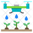 Drone Water Plants Icon