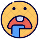 Drool Hungry Emot Icon
