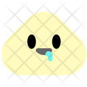 Drooling Face Emoji Icon