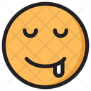 Drooling Emoji Expression Icon