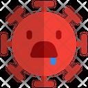Drooling Coronavirus Emoji Coronavirus Icon