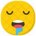 Drooling Emoji Emoticon Smiley Icon