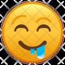 Drooling Face Emoji Emoticon Icon