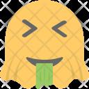 Drooling Face Emoticon Icon