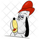 Droopy Dog Puppy Dog Cartoon Icon