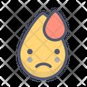 Drop Liquid Gasoline Icon