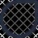 Shape Drop Icon