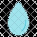 Drop Rain Water Icon