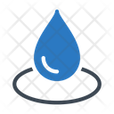 Drop Water Spa Icon