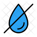 Drop Weather Norain Icon