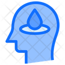 Drop Water Brain Icon