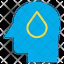 Drop Idea Drop Thinking Human Mind Icon