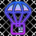 Drop Shipping Transportation Box Icon