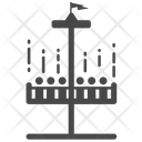 Drop Tower Ride Drop Tower Theme Park Icon