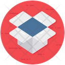 Dropbox File Hosting Cloud Storage Icon