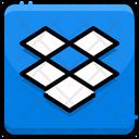 Dropbox Dropbox Logo Brand Logo Icon