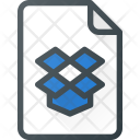 Dropbox Paper File Icon