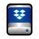 One Drive Cloud Dropbox Icon