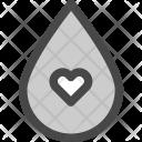 Droplet Liquid Water Icon