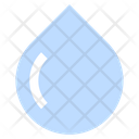 Droplet Raining Aqua Icon
