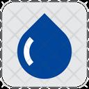 Droplet Rop Raining Aqua Icon