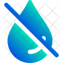 Droplet Off Icon