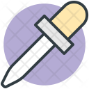 Dropper Pipette Chemical Icon