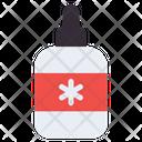 Dropper Drops Bottle Medicine Icon