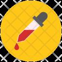 Dropper Test Laboratory Icon