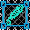 Dropper Tool Color Dropper Designing Equipment Icon