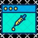 Dropper Web Icon