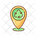 Location Drop Off Landfill Icon