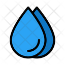 Drops Rain Weather Icon