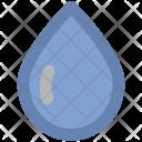 Drops Water Raining Icon