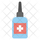 Drops Medicine Bottle Icon