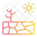 Drought Dry Nature Icon