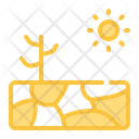 Drought Ecology Nature Icon