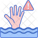 Drown Drowning Flood Icon