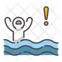 Idrowning Drowning Drowning In Water Icon