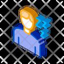 Man Dream Drowsiness Icon