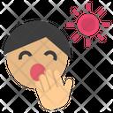 Drowsy Sleepy Yawn Icon