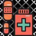 Camping Drug Pharmacy Icon