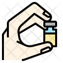 Gene Therapy Drug Icon