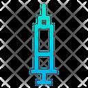 Vaccine Syringe Health Care Icon