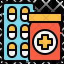 Medicine Pharmacy Pill Icon