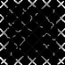 Outbreak Virus Spread Icon