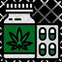 Cbd Medical Capsules Icon