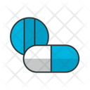 Drug Capsule And Pill Icon