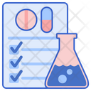 Drug Test Chemical Drug Icon