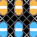 Drugs Capsule Medicine Icon